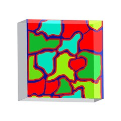 Colorful abstract design 4 x 4  Acrylic Photo Blocks