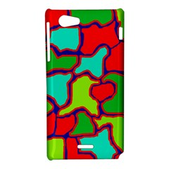 Colorful abstract design Sony Xperia J