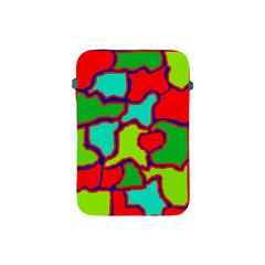 Colorful abstract design Apple iPad Mini Protective Soft Cases