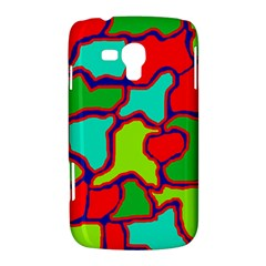 Colorful abstract design Samsung Galaxy Duos I8262 Hardshell Case