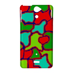 Colorful abstract design Sony Xperia V