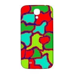 Colorful abstract design Samsung Galaxy S4 I9500/I9505  Hardshell Back Case