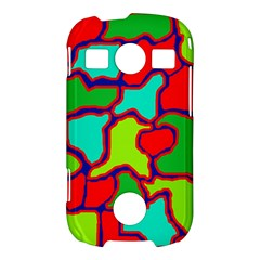 Colorful abstract design Samsung Galaxy S7710 Xcover 2 Hardshell Case