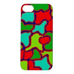 Colorful abstract design Apple iPhone 5S/ SE Hardshell Case