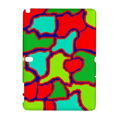 Colorful abstract design Samsung Galaxy Note 10.1 (P600) Hardshell Case
