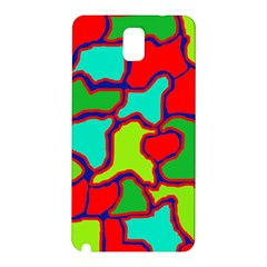 Colorful abstract design Samsung Galaxy Note 3 N9005 Hardshell Back Case