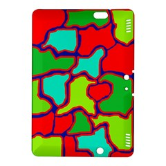 Colorful abstract design Kindle Fire HDX 8.9  Hardshell Case
