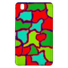Colorful abstract design Samsung Galaxy Tab Pro 8.4 Hardshell Case