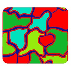 Colorful abstract design Double Sided Flano Blanket (Small)