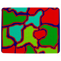 Colorful abstract design Jigsaw Puzzle Photo Stand (Rectangular)