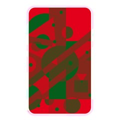 Red and green abstract design Memory Card Reader