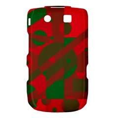 Red and green abstract design Torch 9800 9810