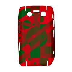 Red and green abstract design Bold 9700