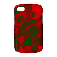 Red and green abstract design BlackBerry Q10