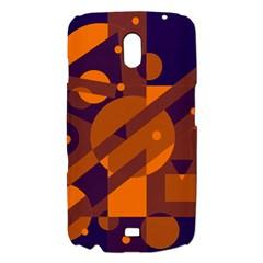 Blue and orange abstract design Samsung Galaxy Nexus i9250 Hardshell Case