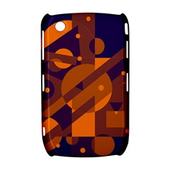 Blue and orange abstract design Curve 8520 9300