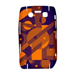 Blue and orange abstract design Bold 9700