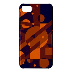 Blue and orange abstract design BlackBerry Z10