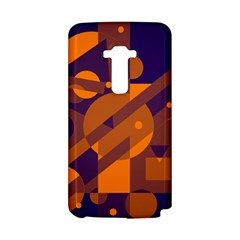 Blue and orange abstract design LG G Flex