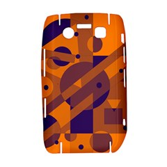 Orange and blue abstract design Bold 9700