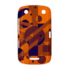 Orange and blue abstract design BlackBerry Curve 9380