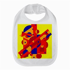 Colorful abstraction Bib