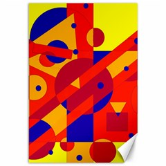 Colorful abstraction Canvas 12  x 18