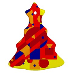 Colorful abstraction Ornament (Christmas Tree)