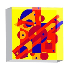 Colorful abstraction 5  x 5  Acrylic Photo Blocks