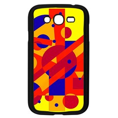 Colorful abstraction Samsung Galaxy Grand DUOS I9082 Case (Black)