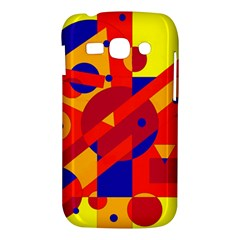 Colorful abstraction Samsung Galaxy Ace 3 S7272 Hardshell Case