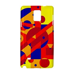 Colorful abstraction Samsung Galaxy Note 4 Hardshell Case