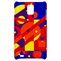 Blue and orange abstract design Samsung Infuse 4G Hardshell Case