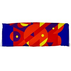 Blue and orange abstract design Body Pillow Case (Dakimakura)