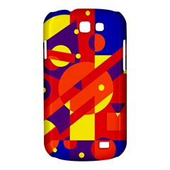 Blue and orange abstract design Samsung Galaxy Express I8730 Hardshell Case