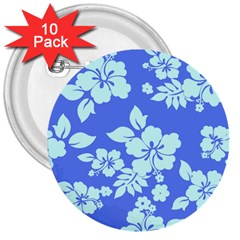 Hawaiian Sky 3  Buttons (10 pack)