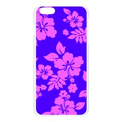 Hawaiian Evening Apple Seamless iPhone 6 Plus/6S Plus Case (Transparent)