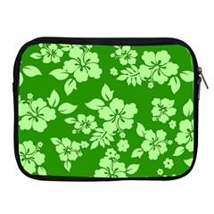 Green Hawaiian Apple iPad 2/3/4 Zipper Cases