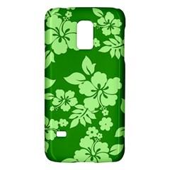 Green Hawaiian Galaxy S5 Mini