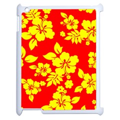Hawaiian Sunshine Apple iPad 2 Case (White)
