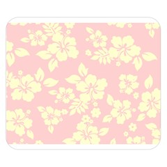 Pastel Hawaiian Double Sided Flano Blanket (Small)