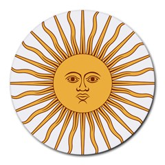 Argentina Sun of May  Round Mousepads