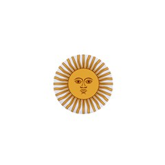 Argentina Sun of May  1  Mini Magnets