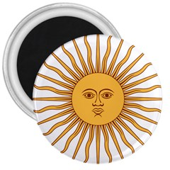 Argentina Sun of May  3  Magnets