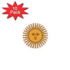 Argentina Sun of May  1  Mini Buttons (10 pack)