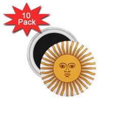 Argentina Sun of May  1.75  Magnets (10 pack)