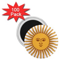 Argentina Sun of May  1.75  Magnets (100 pack)