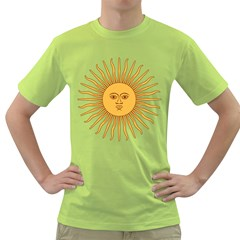 Argentina Sun of May  Green T-Shirt