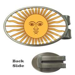 Argentina Sun of May  Money Clips (Oval)