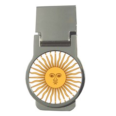 Argentina Sun of May  Money Clips (Round)
